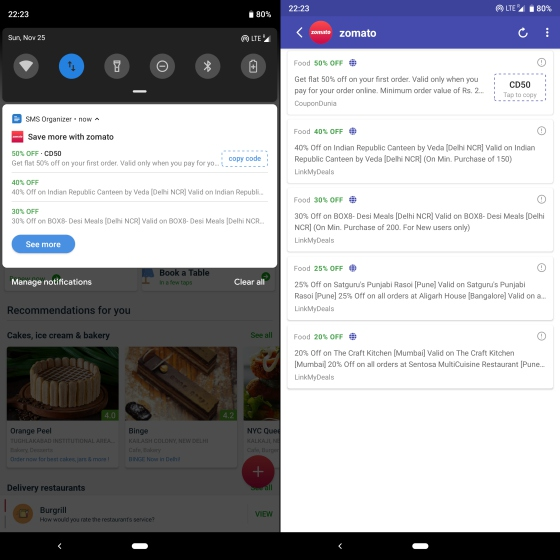 Microsoft's SMS Organizer Beta Now Clutters Your Inbox With New Offers, Discount Coupons in India