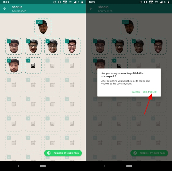 This App Lets You Make Custom Sticker Packs for WhatsApp With Your Photos
