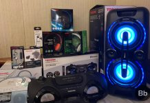toshiba audio products launch