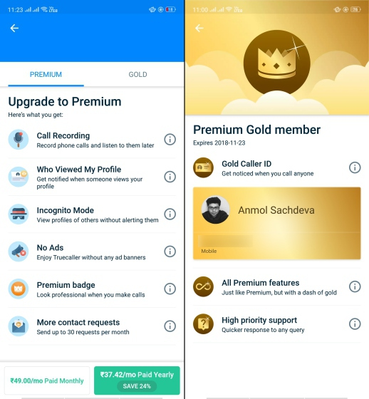 Is Truecaller Gold Subscription Worth It at Rs 5000 Per Year?
