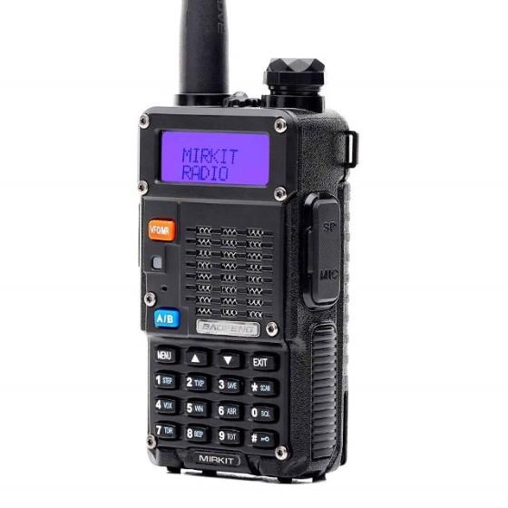 2. Baofeng Radio UV-5R MK5 8W 2018 Mirkit Edition