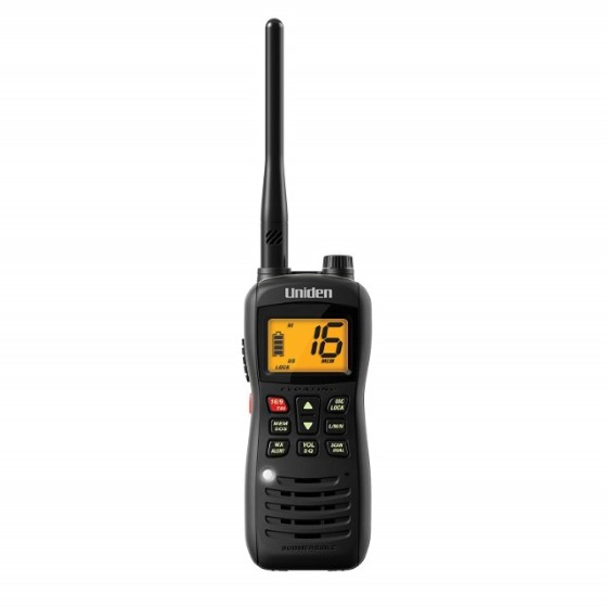 3. Uniden MHS126 Handheld Submersible Walkie Talkie