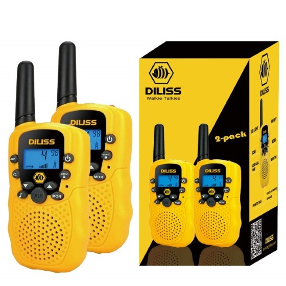 7. DilissToys Kids Voice Activated Walkie Talkies