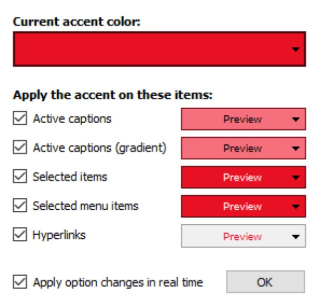 Accent Applicator