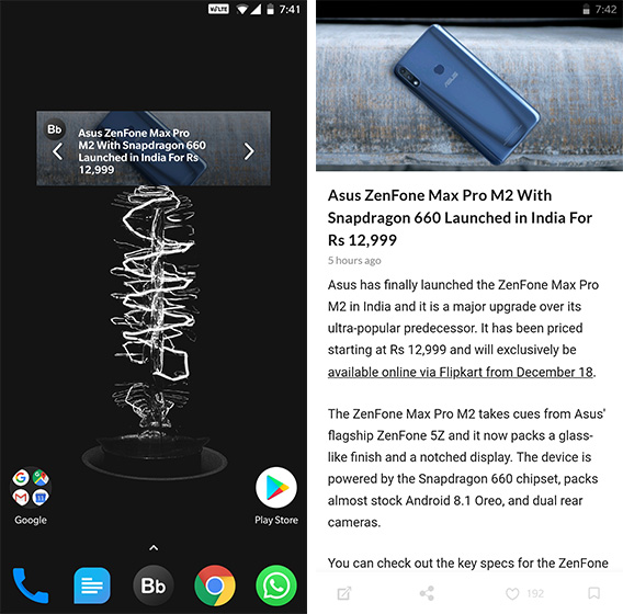 Android Widgets Beebom