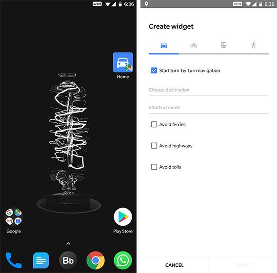 Android Widgets Google Maps