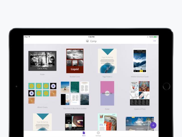 Adobe Comp CC - Best Apple Pencil Apps