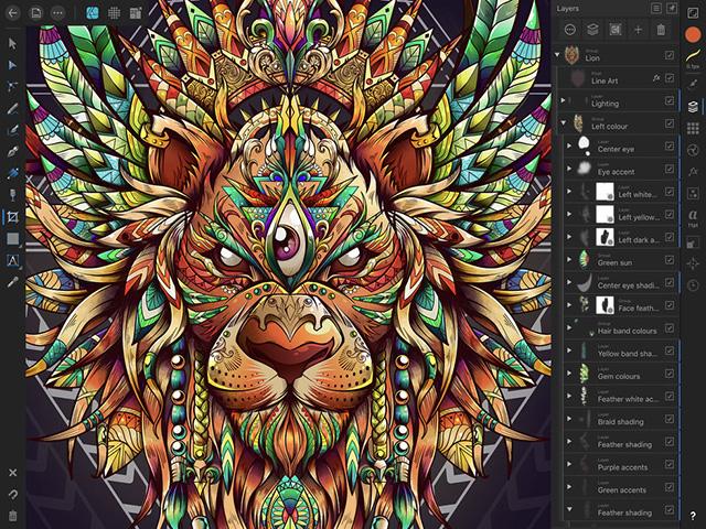 Affinity Designer - Best Apple Pencil Apps