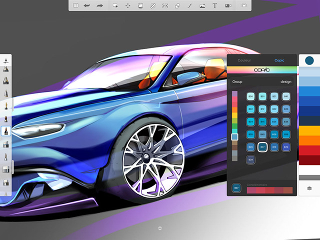Autodesk SketchBook - Best Apple Pencil Apps