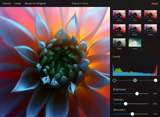 Pixelmator - Best Apple Pencil Apps