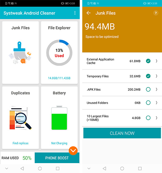 Best Cleaner and Booster Apps for Android
