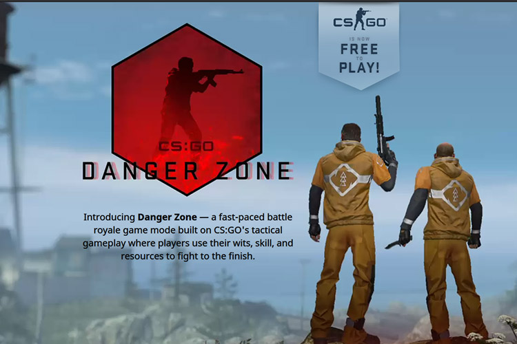 CS:GO now Free-to-Play, adds Danger Zone battle royale mode