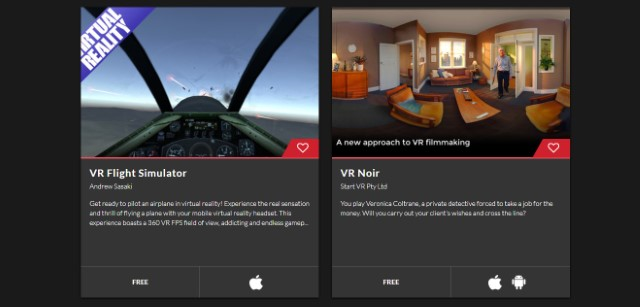 Dream Vision VR Apps