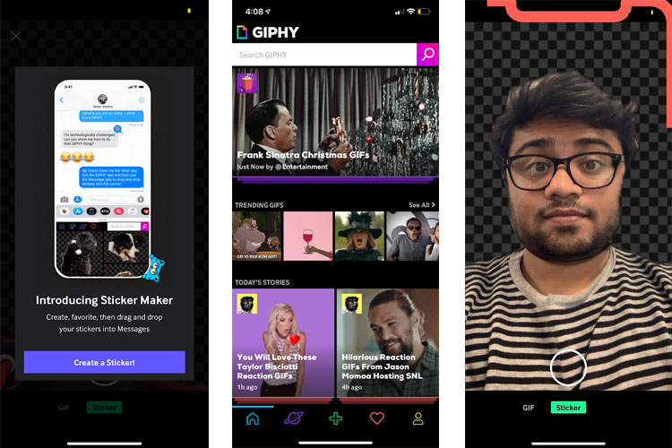 GIPHY Updates Its iOS App to Add 'Sticker Maker' and Keyboard Extension