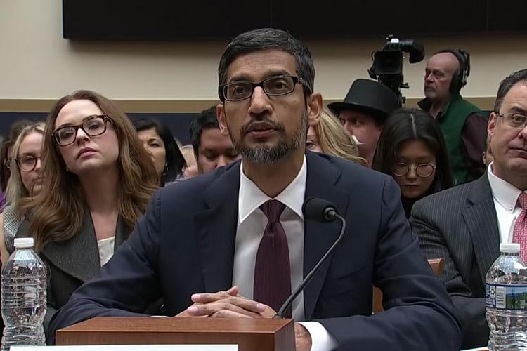 Sundar Pichai's Answer About Ads on 'iPhone' Lightens Up Senate Hearing