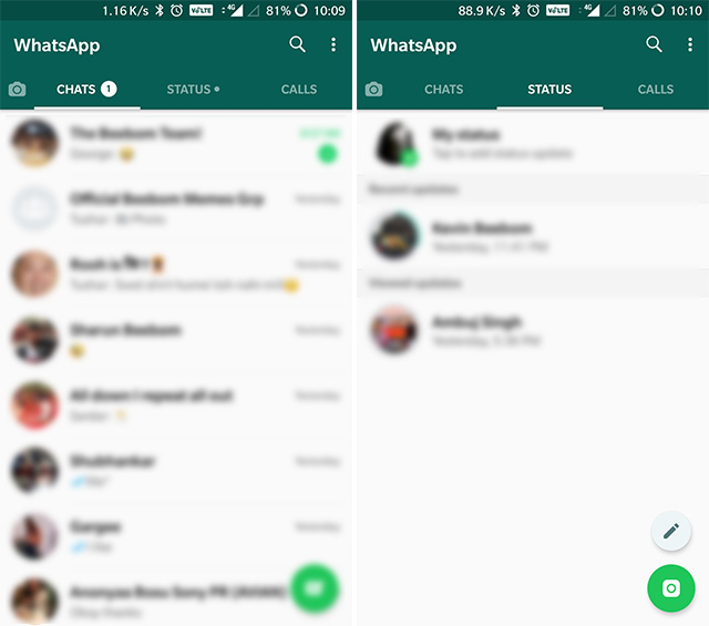 Hangouts Alternatives WhatsApp
