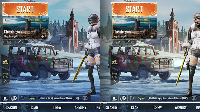 PUBG mobile optimised for notched screens
