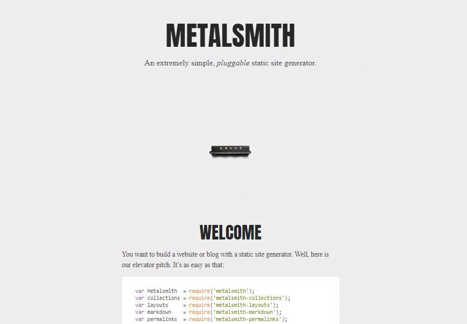 Metalsmith