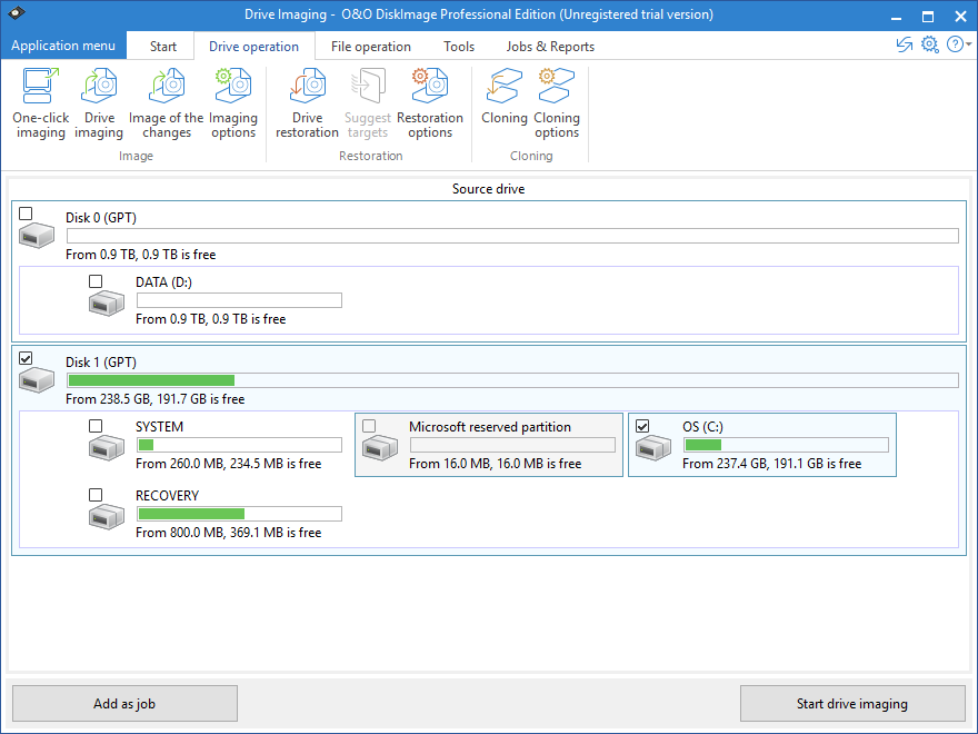 best backup software o&o