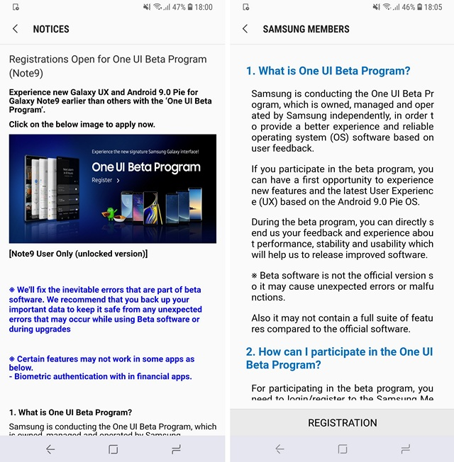 How to Install One UI Beta on Galaxy Note 9, S9 and S9 Plus