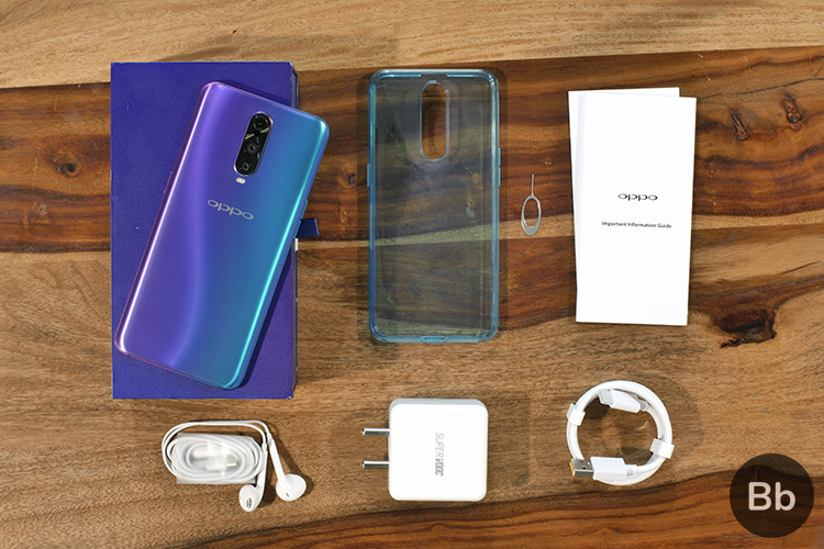 Oppo R17 Pro unboxing