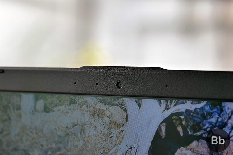 Asus VivoBook X505 webcam placement