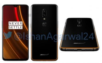 oneplus 6T McLaren Edition press render