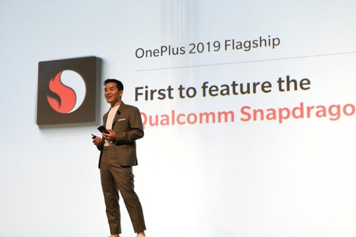 oneplus snapdragon 855 first phone