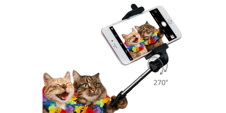 mpow simple Bluetooth selfie stick