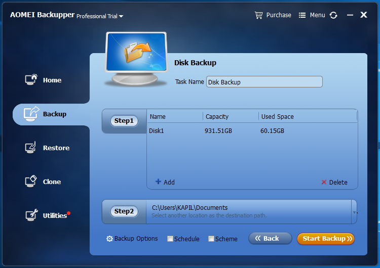 best backup software aomei backupper