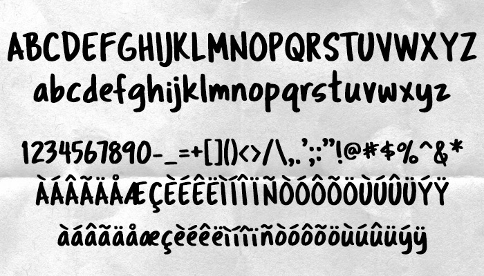Best Handwriting Fonts Tragic Marker