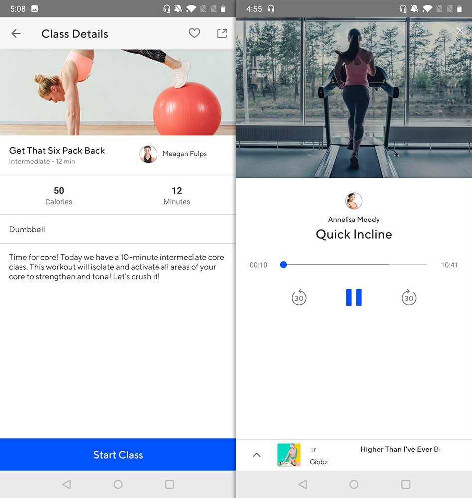 Best Workout Apps classpass go