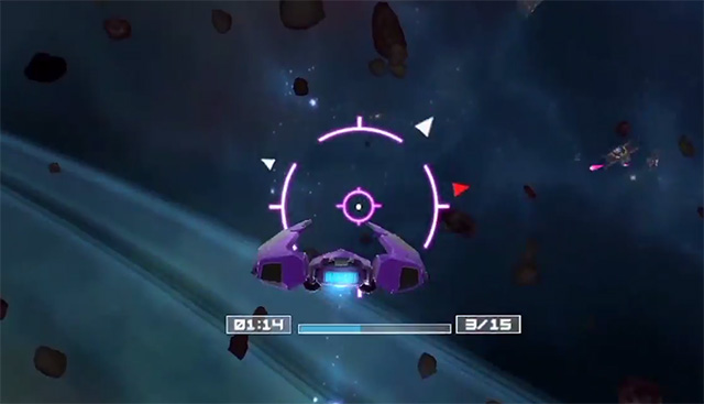 deep space battle screenshot
