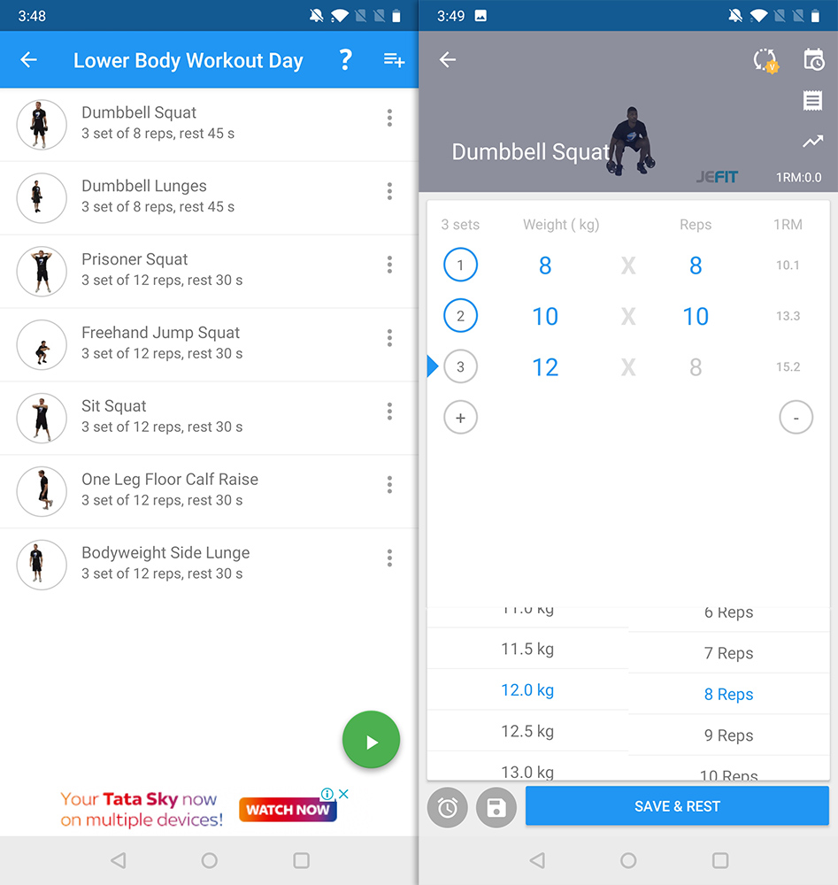 Best Workout Apps jefit
