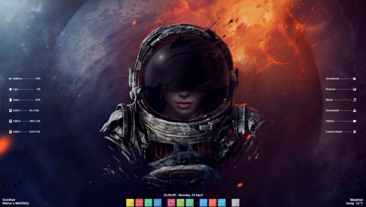 20 Best Rainmeter Skins for 2019 | Beebom