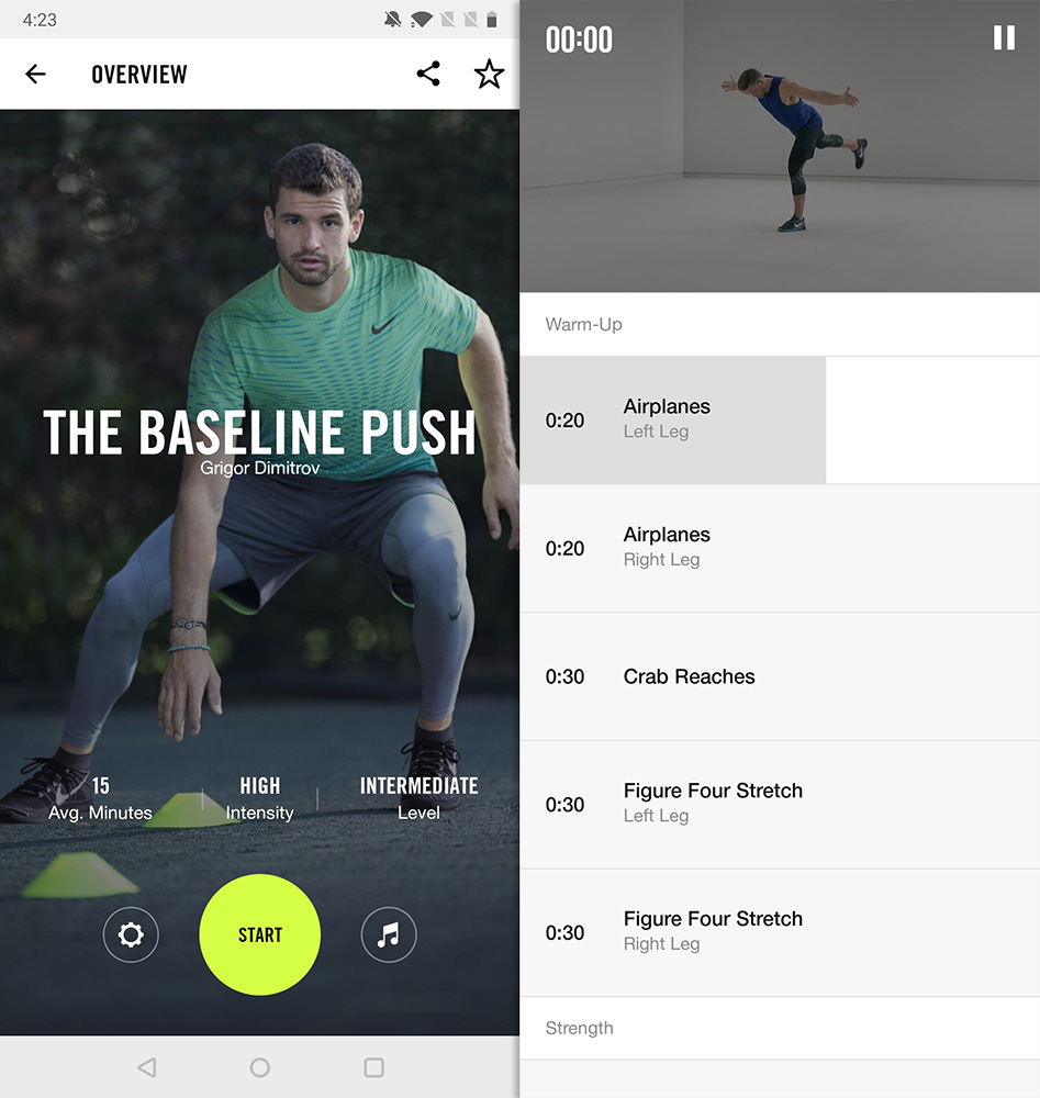Best Workout Apps nike training club