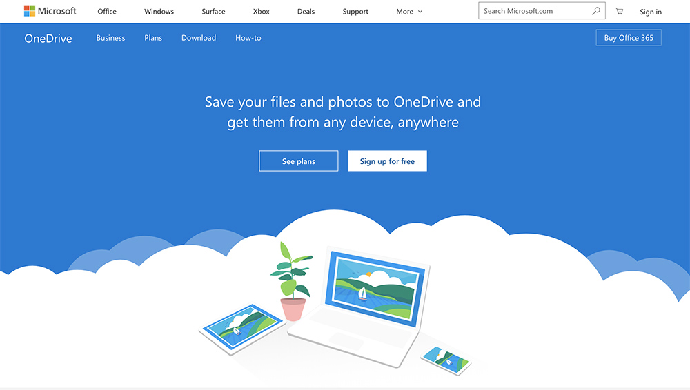 best backup software microsoft onedrive