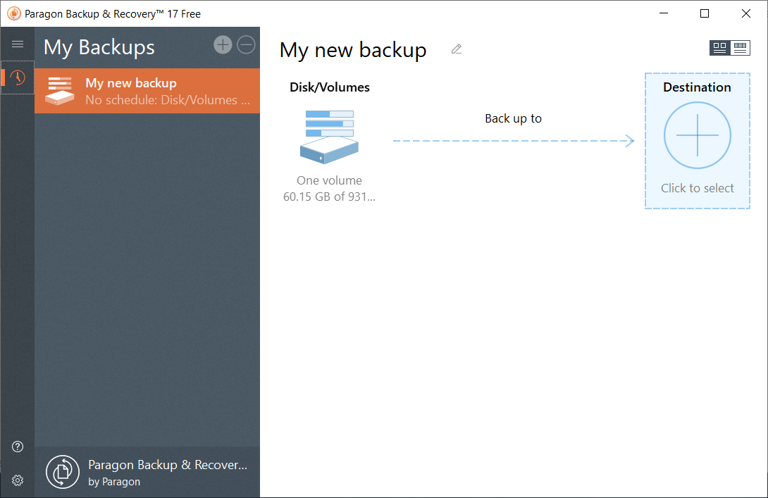 best backup software paragon backup