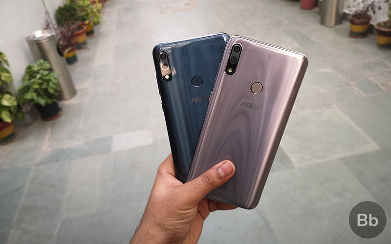 ZenFone Max Pro M2 in both colors