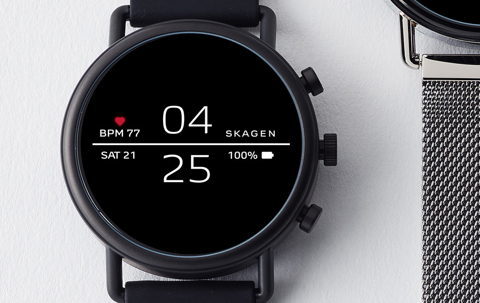 Skagen Falster 2 Wear OS smartwatch