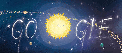 Google Doodle Reminds Us to Watch Tonight's Geminid Meteor Shower