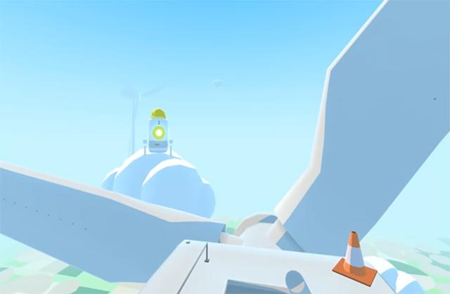 скриншот виртуальной виртуальной реальности