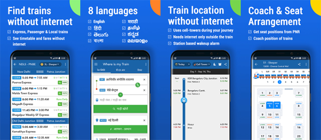 Google Acquires 'Where is My Train', An Indian App for Locating Trains