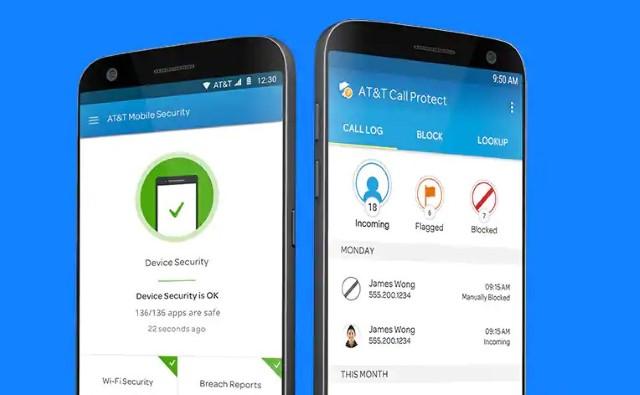 1. AT&T - Call Protect