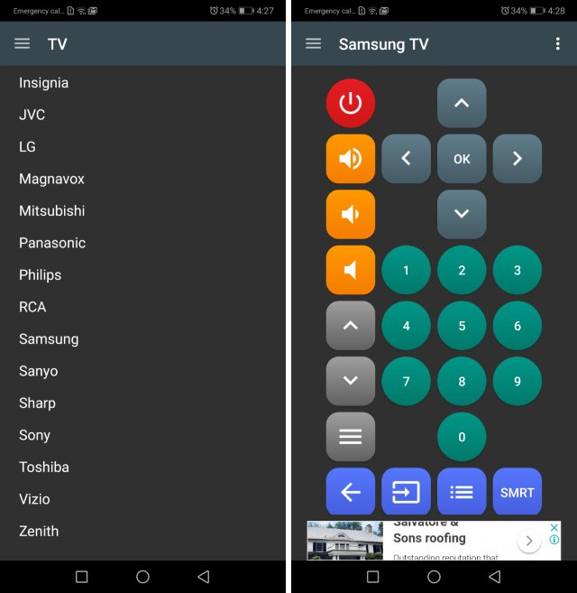 Twinone univeral tv remote - Best TV Remote Apps