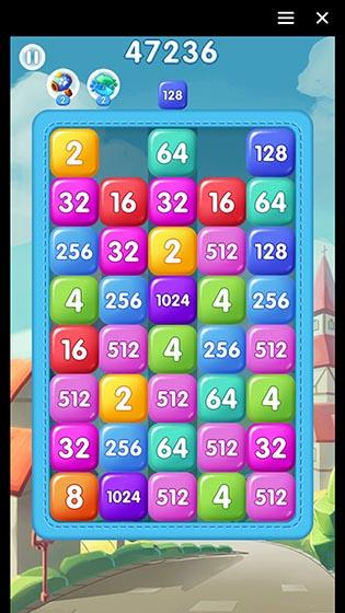 2048 Tetris