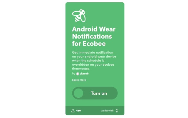3. Get Android Wear Notifications for Ecobee