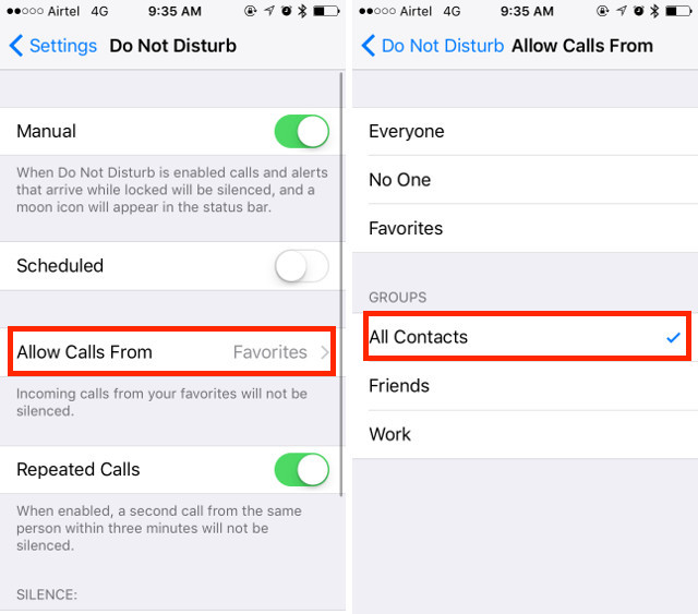 5. iPhone Call Blocking service