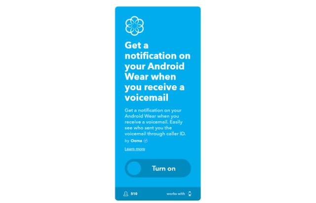 6. Get a Notification on Android Wear When You Receive a Voicemail