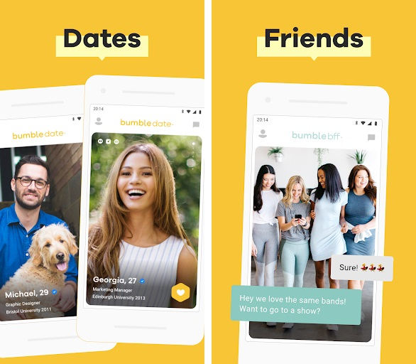 Friend app like tinder